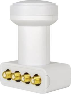 LNB quad MegaSat HD-Profi Nombre d'abonné(s) : 4 contacts de connexion dorés, résistant aux intempéries