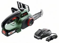 Tronçonneuse sans fil Bosch Home and Garden UniversalChain 18 sans batterie, avec étrier de protection 18 V Li-Ion Long