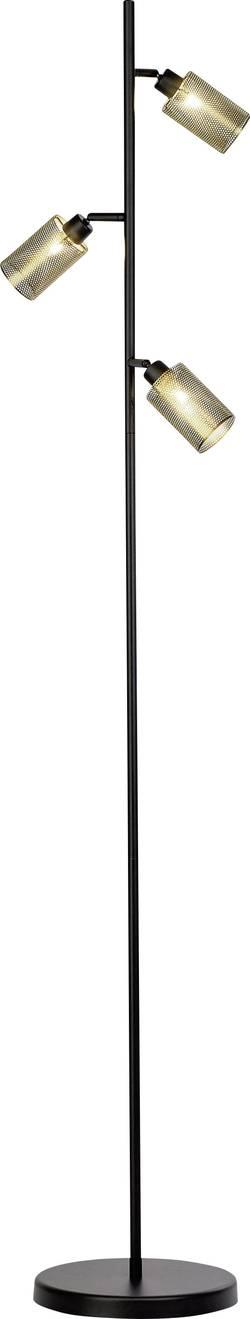 Lampe sur pied G9 Brilliant Mesh 60 W pivotable, inclinable, avec interrupteur