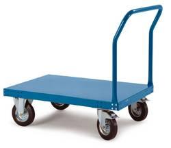 Chariot à plate-forme Manuflex Tôle d'acier Charge max: 500 kg