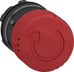 Arrêt d'urgence collerette plastique Schneider Electric ZB4BS8347 rouge décrochage par rotation 1 pc(s)