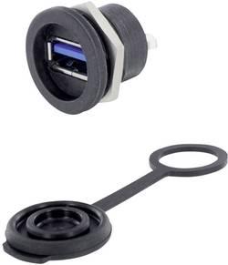USB 3.0 type A embase femelle de chassis encitech 1310-1014-01 M16 1 pc(s)