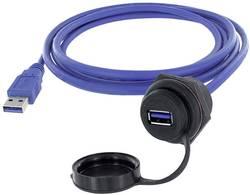 USB 3.0 femelle A embase femelle de chassis encitech 1310-1025-03 M30 1 pc(s)