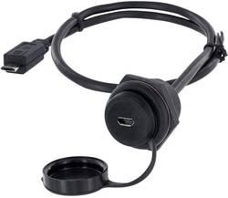 USB 2.0 femelle Micro-B embase femelle de chassis encitech 1310-1027-01 M30 1 pc(s)