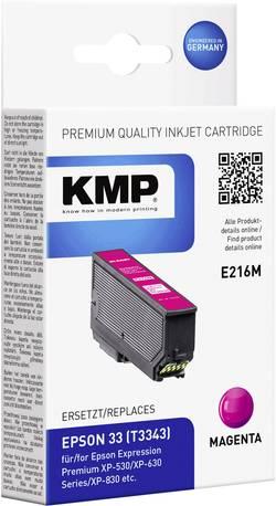 KMP Encre remplace Epson T3343, 33 compatible magenta E216M 1633,4806