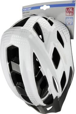 Casque MTB Fischer Fahrrad 86720 blanc, noir M