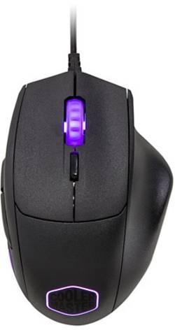 Souris USB optique Cooler Master MasterMouse MM520 éclairé, mémoire de profil intégré noir