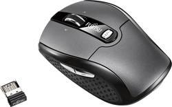 Fujitsu WI610 Souris sans fil optique ergonomique noir, gris