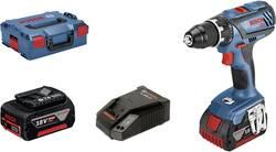 Perceuse-visseuse sans fil Bosch Professional 06019H4101 18 V 5 Ah Li-Ion + 2 batteries, + mallette