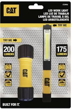 CAT CT2PEU LED Lampe de travail, Mini lampe de poche avec clip c