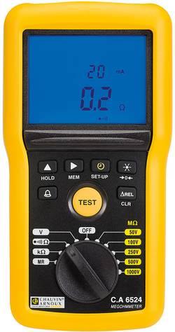 Chauvin Arnoux CA6524 Appareil de mesure d'isolement 50 V, 100 V, 250 V, 500 V