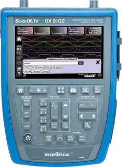 Metrix OX9102 Oscilloscope numérique 100 MHz 2 canaux 2.5 Géch/s 100 kpts 12 bits mémoire numérique (DSO), appareil man
