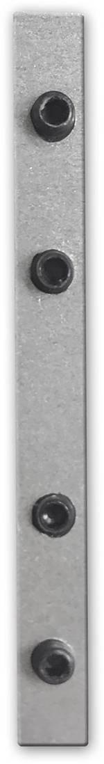 Elément de liaison Galaxy Profiles 8301506 aluminium (L x l x h) 52 x 5 x 4 mm 1 pc(s)
