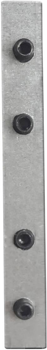 Elément de liaison Galaxy Profiles 8301504 aluminium (L x l x h) 52 x 8 x 4 mm 1 pc(s)