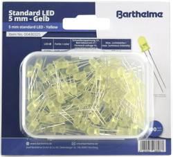 Assortiment de LEDs 5 mm Barthelme 00430325 jaune rond 800 mcd 35 ° 30 mA 2 V 100 pc(s)