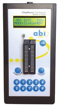 Testeur de composants ABI ABI ChipMaster Compact Professional Etalonné selon: d'usine (sans certificat)