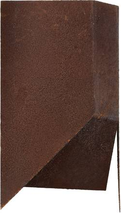 Applique murale Brilliant Bat E27 60 W marron rouille