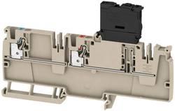 Borne de distribution avec fusible Weidmüller AAP22 4 LI-FS 100-250V 2460120000 beige 50 pc(s)