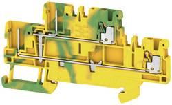 Bloc de jonction enfichable à 2 étages Weidmüller APGTB 1.5 2T PE 4C/2 2485870000 jaune-vert 50 pc(s)