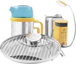 Réchaud de camping BioLite 006-6001122 acier inoxydable, plastique aluminium, turquoise, orange