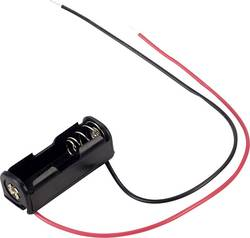 Support de pile 1x LR1 (N) TRU COMPONENTS BH-511-4A câble