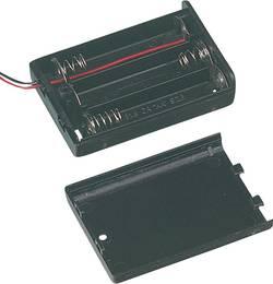 Support de pile 3x LR6 (AA) TRU COMPONENTS SBH-331A câble