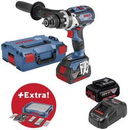 Perceuse-visseuse sans fil Bosch Professional 0615990K1S 18 V 5 Ah Li-Ion + 2 batteries, + accessoires, + mallette