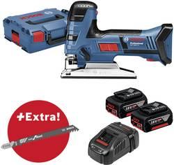 Scie sauteuse sans fil + 2 batteries, + accessoires, + mallette Bosch Professional GST 18V-LI S 06015A5106 18 V 5 Ah 1