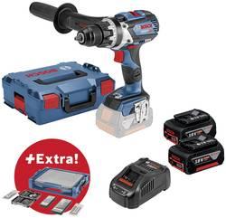 Perceuse-visseuse sans fil Bosch Professional 0615990K1P 18 V 5 Ah Li-Ion + 2 batteries, + accessoires, + mallette