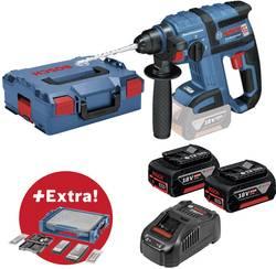 Marteau perforateur sans fil Bosch Professional 0615990K1V SDS-Plus-18 V 5 Ah Li-Ion + 2 batteries, + accessoires, + m