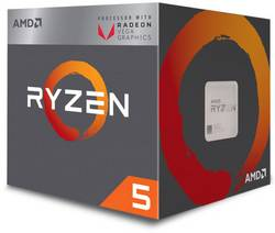Processeur (CPU) Boxed AMD Ryzen 5 2400G 4 x 3.6 GHz Quad Core Socket: AMD AM4 65 W