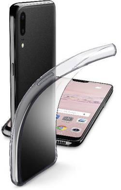 Coque arrière Cellularline FINE Adapté pour: Huawei P20 Pro transparent