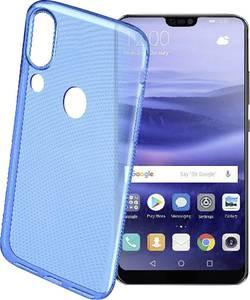 Coque arrière Cellularline COLORCP20LITEB Adapté pour: Huawei P20 Lite bleu transparent