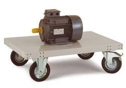 Chariot à plateforme Manuflex sans arceau Tôle d'acier Charge max: 400 kg