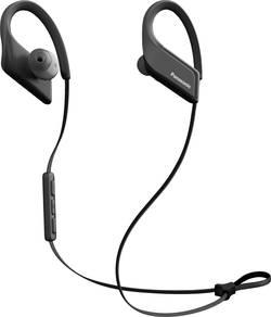 Panasonic RP-BTS35E Bluetooth sport Ecouteurs intra-auriculaires micro-casque, volume réglable, arceau auriculaire, rési