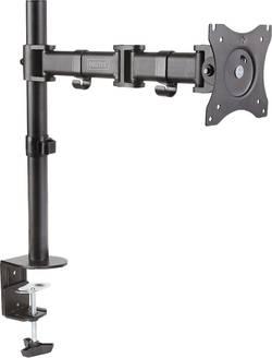"""Digitus DA-90361 1 prise Support de table pour écran 38,1 cm (15"""") - 68,6 cm (27"""") rotatif, réglable en hauteur, inclina"""