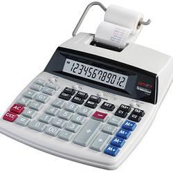 Calculatrice de bureau avec imprimante GENIE D69 PLUS blanc sur secteur