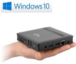 Mini-PC (HTPC) CSL Computer CSL Narrow Box Ultra HD Compact Intel® Pentium® N4200 (1.1 GHz) 4 Go32 Go;Windows® 10 Pro