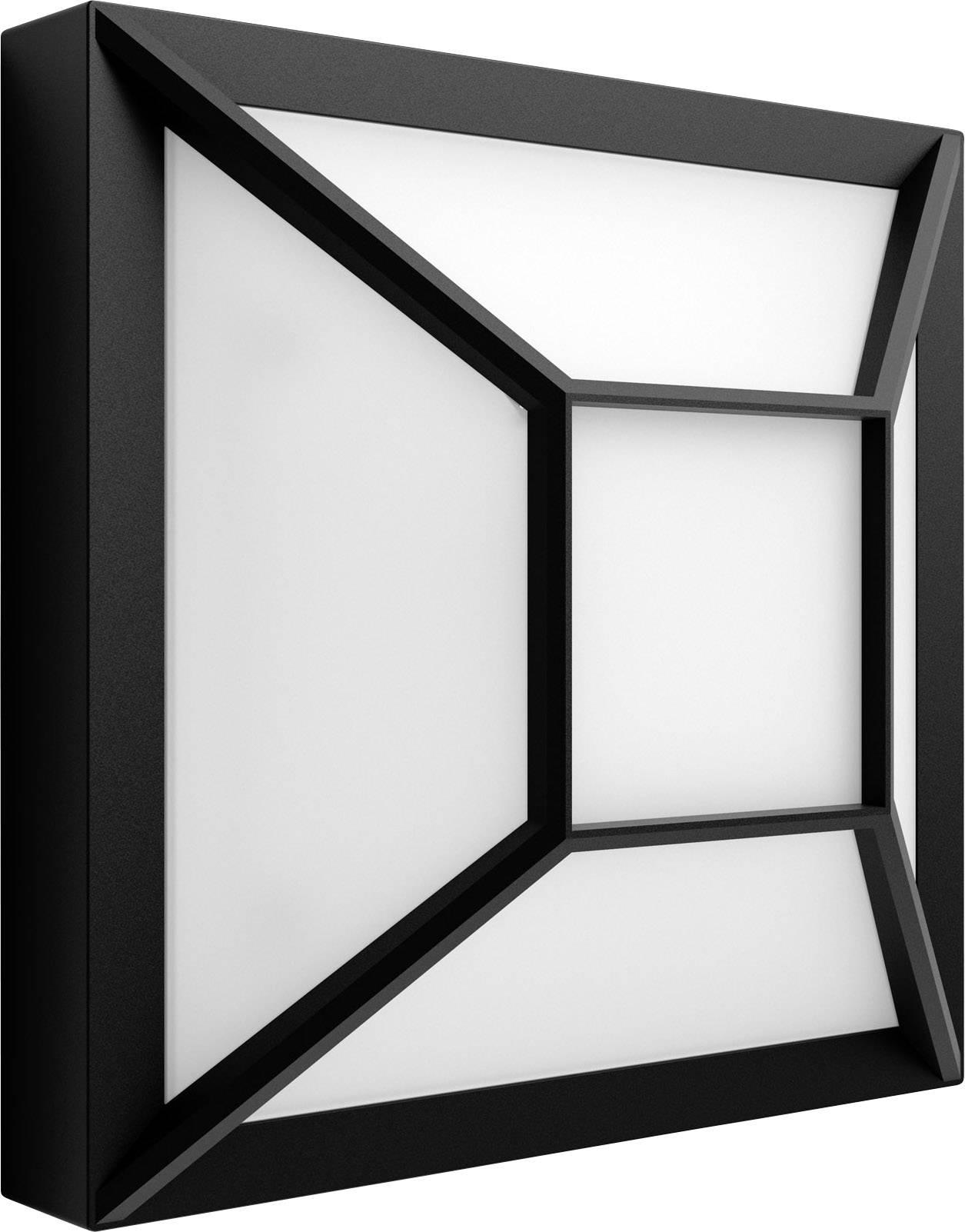 Murale Eec12 Extérieure Philips 1739330p0 Noir Blanc Drosera Chaud Led Applique W wPvNnO8my0