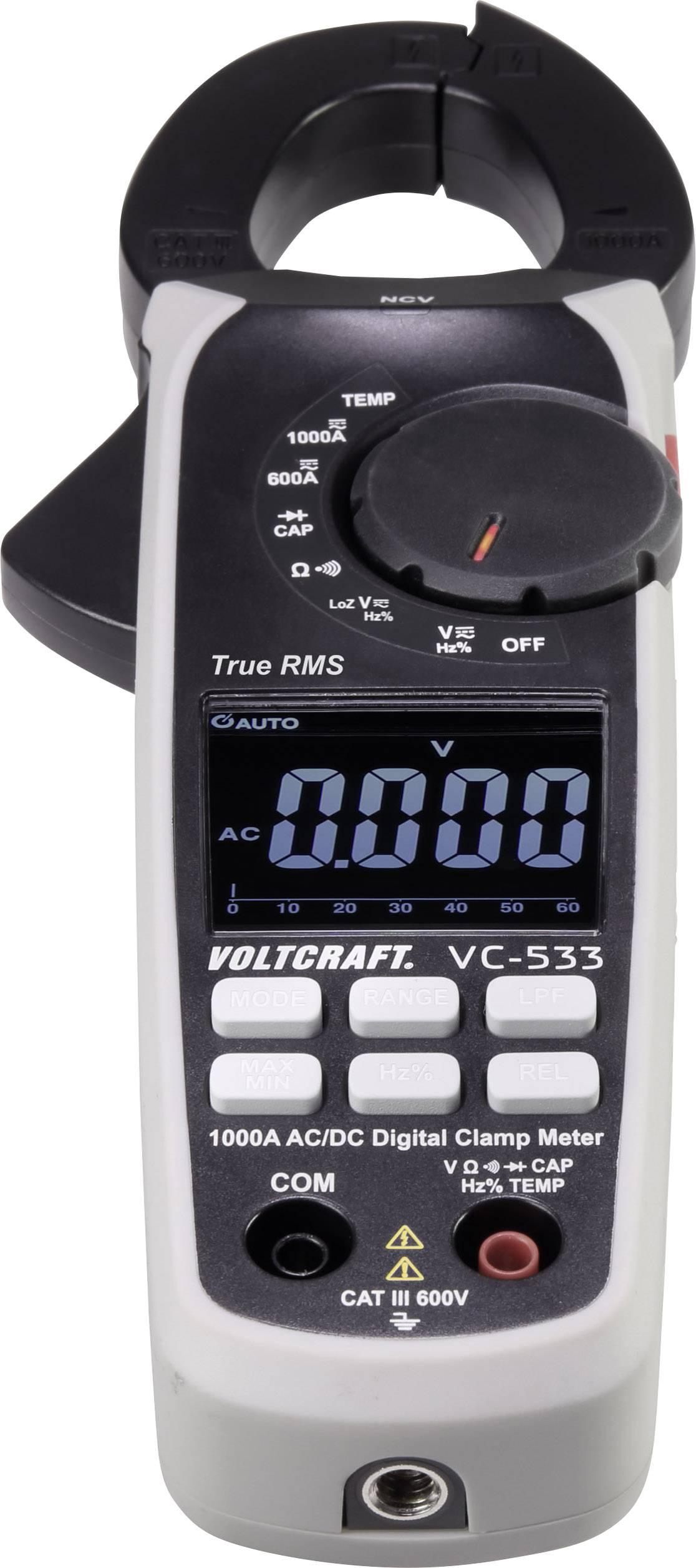 s CAT II 600 V Affichage nombre de points : 4000 1 pc Pince amp/èrem/étrique VOLTCRAFT VC-337 num/érique CAT III 300 V