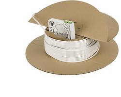 Prise fibre optique (FO) Metz Connect 150C049HK0010E blanc pur (RAL 9010) 1 pc(s)