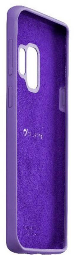Coque arrière Cellularline SENSATIONGALS9V Adapté pour: Samsung Galaxy S9 violet