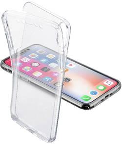 Coque arrière Cellularline CLEARTOUCHIP8XT Adapté pour: Apple iPhone X transparent
