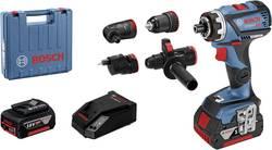 Perceuse-visseuse sans fil Bosch Professional 06019G7100 18 V 5 Ah Li-Ion + 2 batteries, + mallette, + accessoires