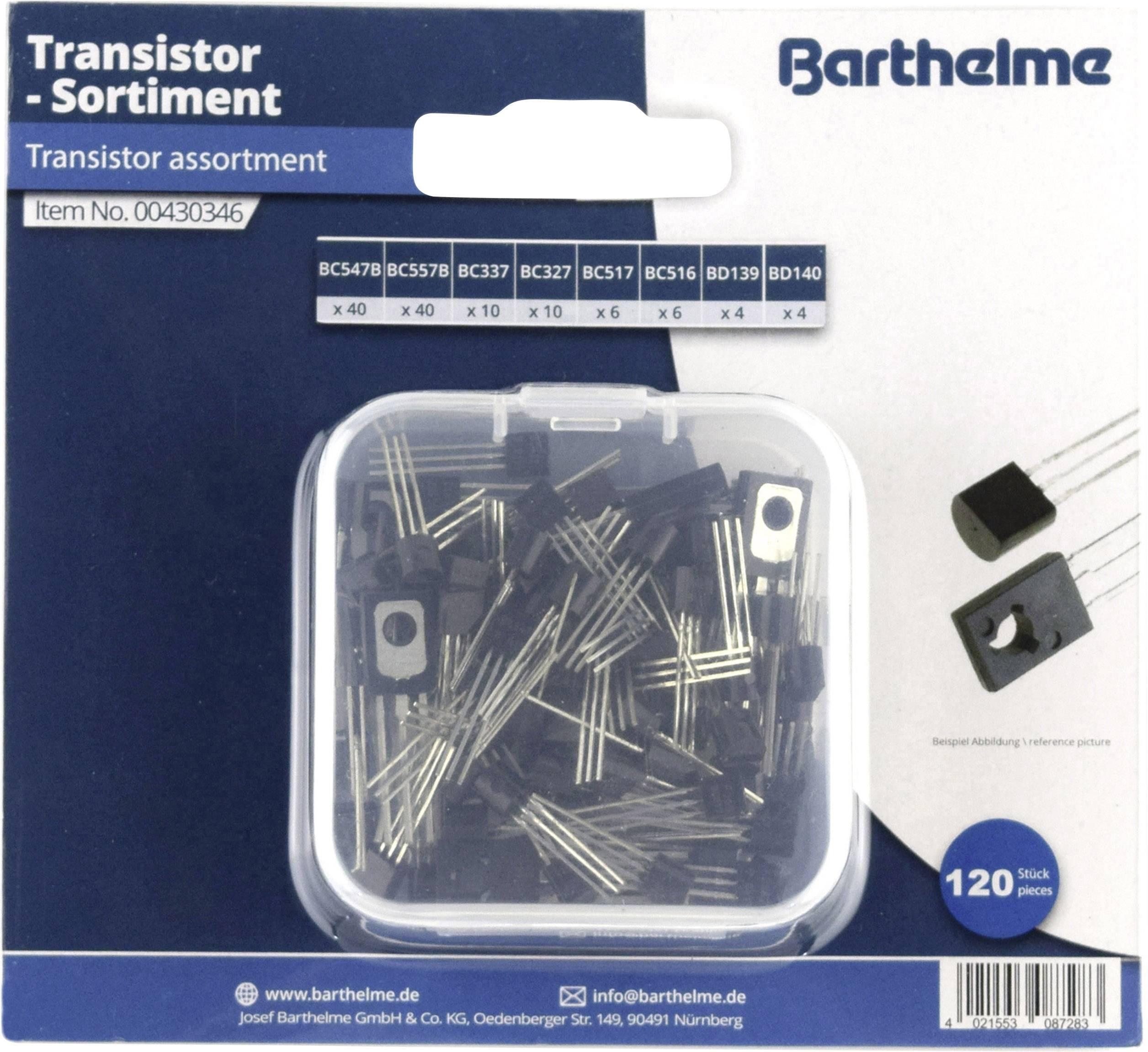 Transistors 5 x BC516 PNP Darlington