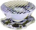 Optique LED transparent, rainuré transparent 8 °, 25 ° Nombre de Leds (max.): 1 Dialight Lumidrives OPC1-1-OVAL