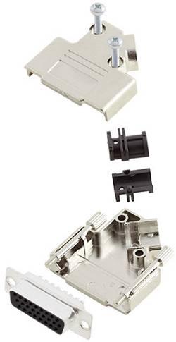 Kit SUB-D femelle fût à souder Amphenol L17D45PK-M-25+L77HDB44S 45 ° Nombre total de pôles: 44 1 pc(s)