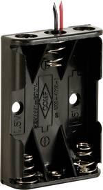 Velleman BH431A Support de pile 3 LR03 (AAA) câble