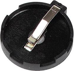 Support de pile bouton CR 2425, CR 2430 Velleman BH-002 horizontal, montage THT
