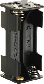 Velleman BH443D Support de pile 4 LR03 (AAA) conne